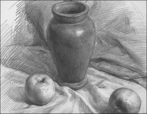 美术高考基础教学精品范画:素描静物 [平装]/¥20.