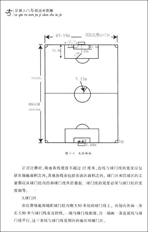 足球入门与技战术图解