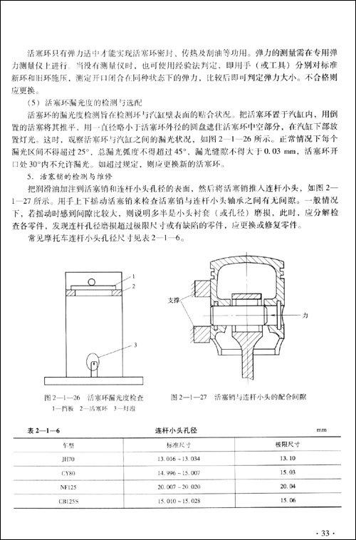 机体的结构决定了发动机各零部件的尺寸和结构,决定了发动机的整体