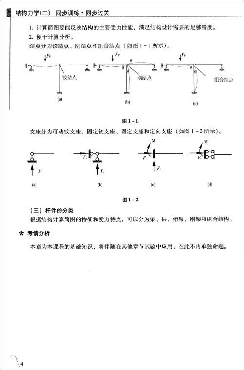 结构力学作业答案2014
