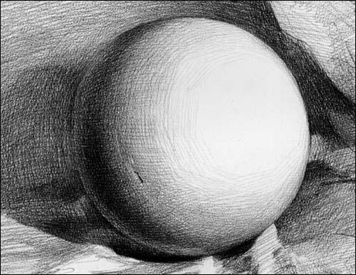 蒙 素描 几何形体图片