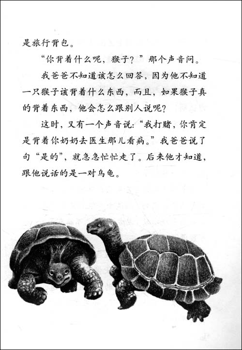 飞龙鳄鱼简笔画