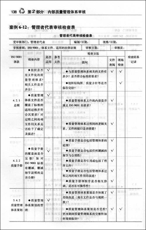 ISO 9001:2008内审员实战通用教程