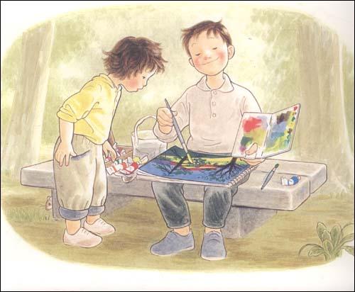 癞蛤蟆与青蛙的图片 青蛙与荷叶简笔画