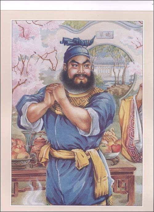 三国演义 关羽 三国演义人物之关羽简笔画