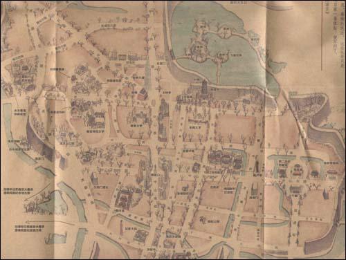 回至 手绘南京地图 (平装)