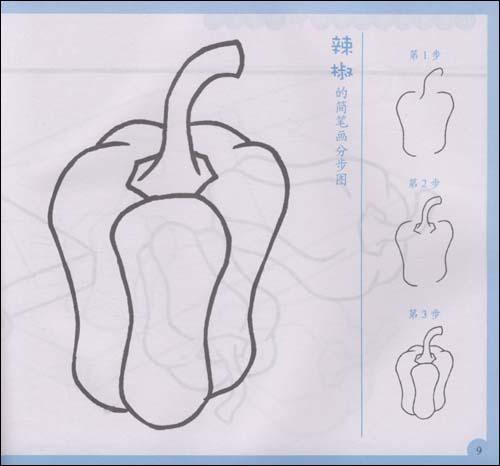 幼儿简笔画辣椒