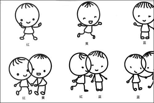 幼儿运动简笔画图片