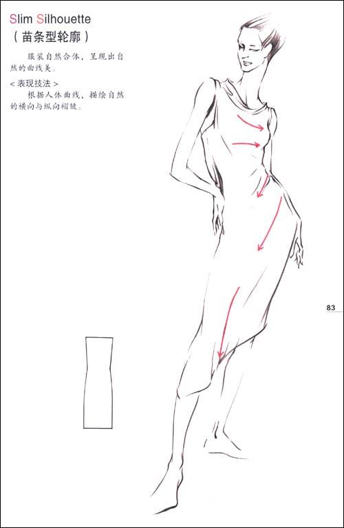 时装画技法:人体与着装表现