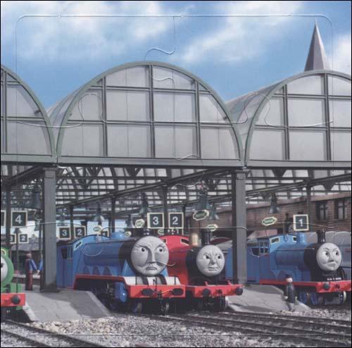 托马斯和朋友益智拼图3:小火车托马斯接力赛