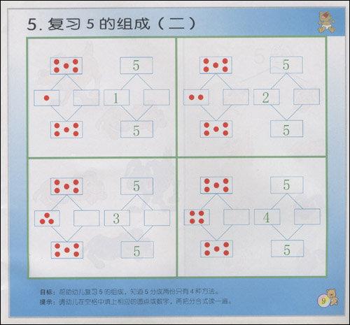 熊宝宝乐园系列丛书· 幼儿 智力数学活动练习图片
