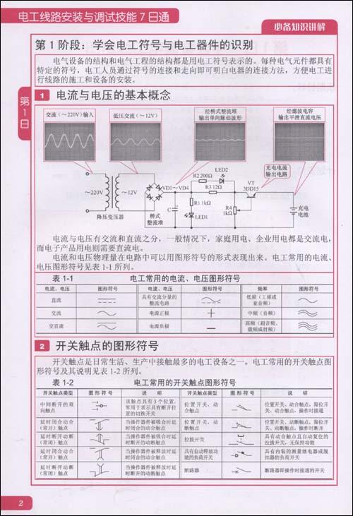 电工线路安装与调试技能7日通
