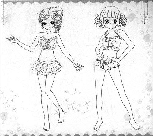 列之1:神秘小公主_乐乐简笔画