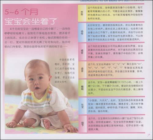 戴淑凤育儿百科:0-1岁宝宝养育全书