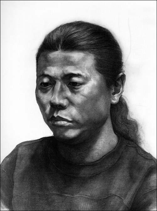 素描人物头像写生应试临摹范本平装–2009年10月1日