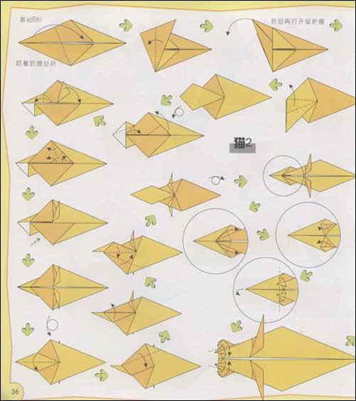 大班美术折纸鱼撕贴画画作品