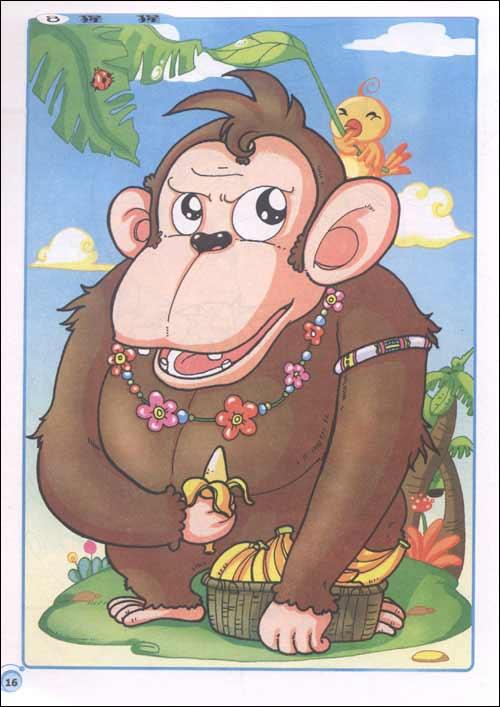 《超级儿童搜图绘本:动物野生篇》