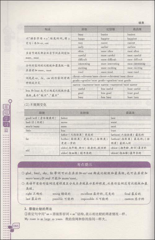 初中英语语法全书