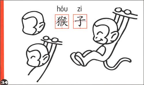 儿童线描教程步骤