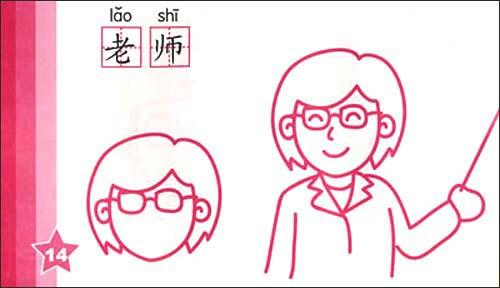 幼儿多功能蒙纸简笔画:人物/福州新月安利数码动画