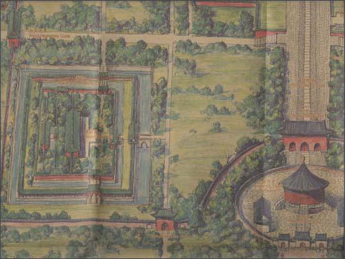 天坛手绘图(珍藏版)平装–2011年1月1日