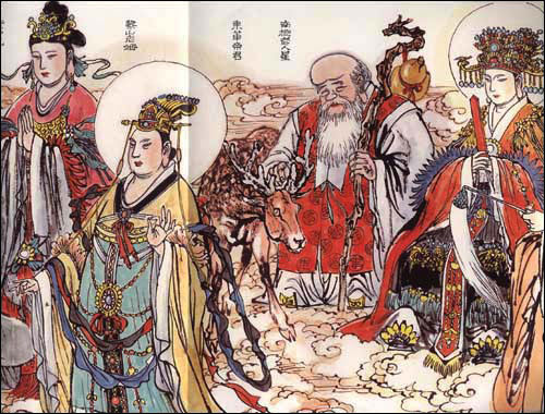 西游记人物图 (平装)