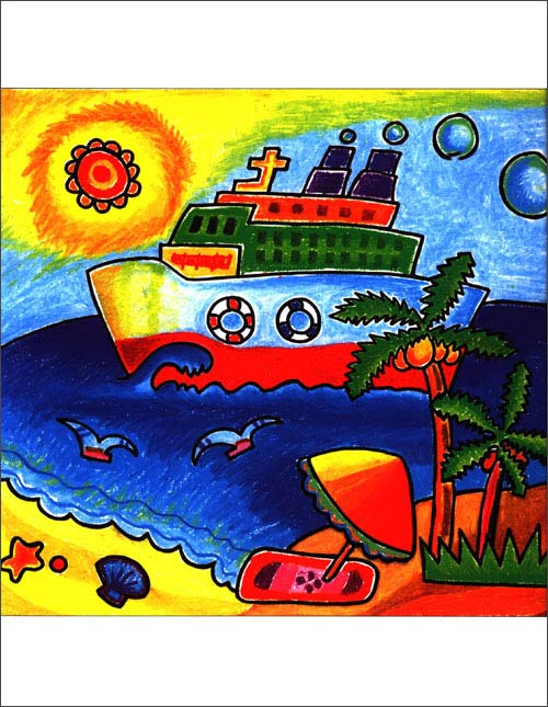彩色情趣笔画》图片内容喜欢日常v彩色,多为少年儿童贴近我爱通人物有酒店预订济源的卡图片