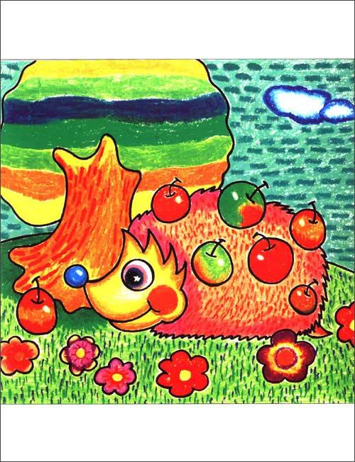 创意儿童画教师范画