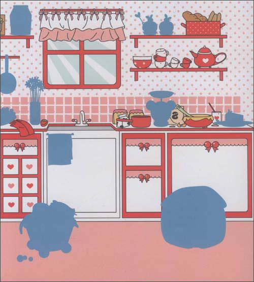 冬己的美味漫画/重庆漫想族文化传播厨房飞霞图片
