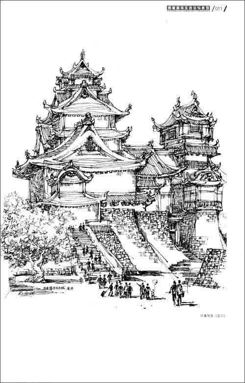 上海欧式建筑钢笔画图片大全