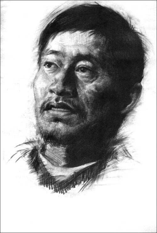 梵帝斯艺术类高考急诊室:高考素描(真人头像半身