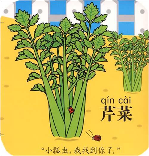 拉拉书:蔬菜(雨后菜园)》
