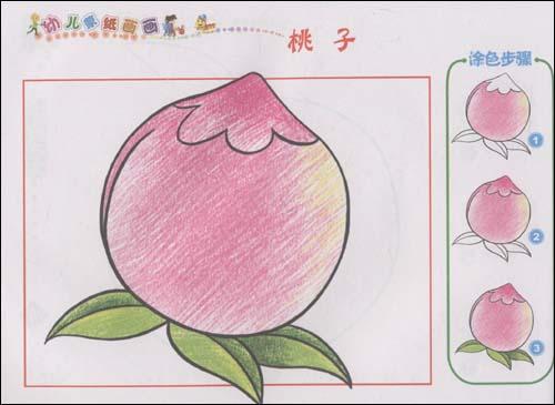 幼儿蒙纸画画:学画水果 [平装]图片