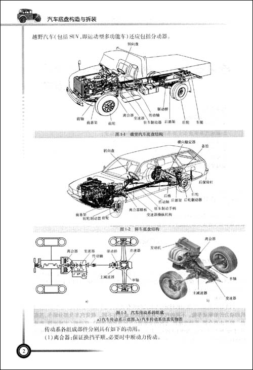 汽车底盘构造与拆装