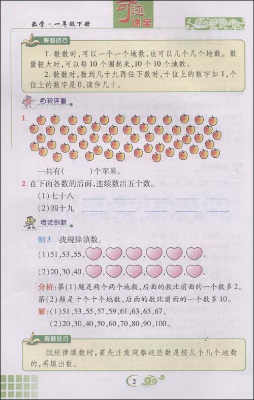 数学思维小树手抄报