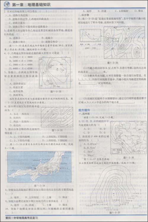 西亚地形地图填充图