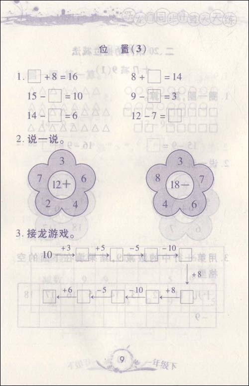 看图列式计算一年级 看图写话一年级下册 一年级看图写话例文 一年级