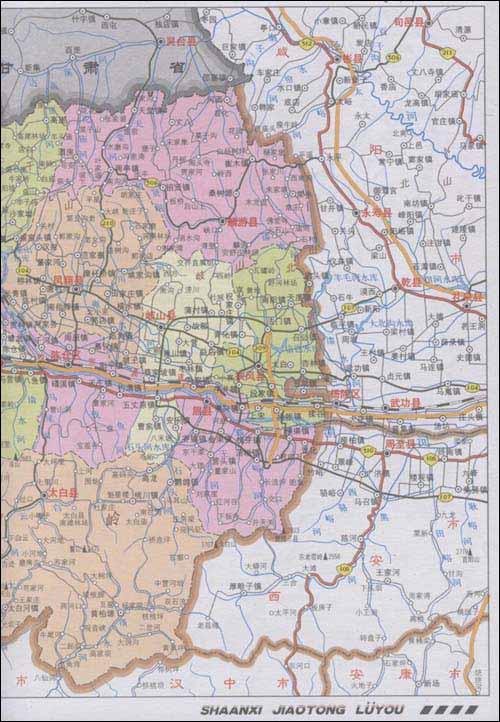 西安雁塔区地图全图图片大全 陕西西安市雁塔区交通地图