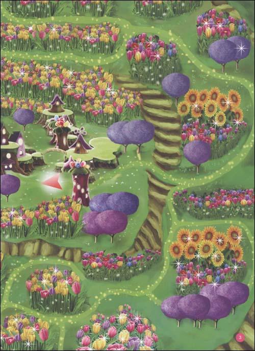 芭比美绘大迷宫:芭比花仙子