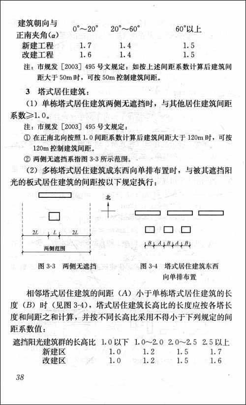 建筑设计规范常用条文速查手册
