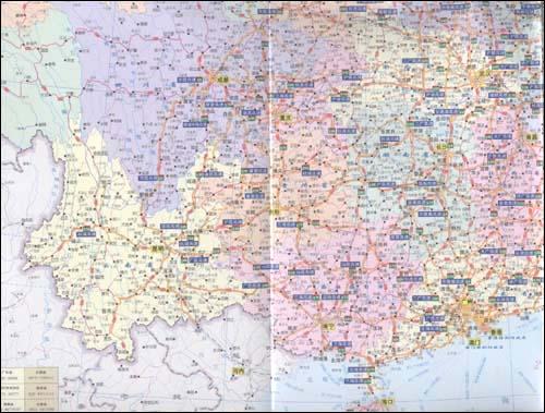 中国公路地图(便携版2011)/山东省地图出版社-图书