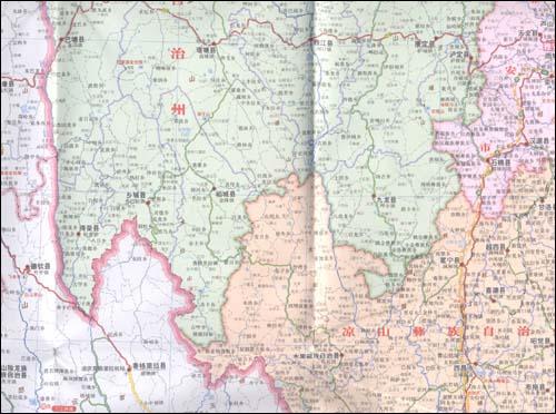 四川省地图(新版):亚马逊:图书