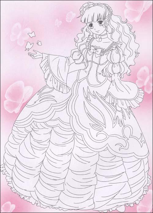 美少女涂色:梦幻公主/河马文化-图书-亚马逊