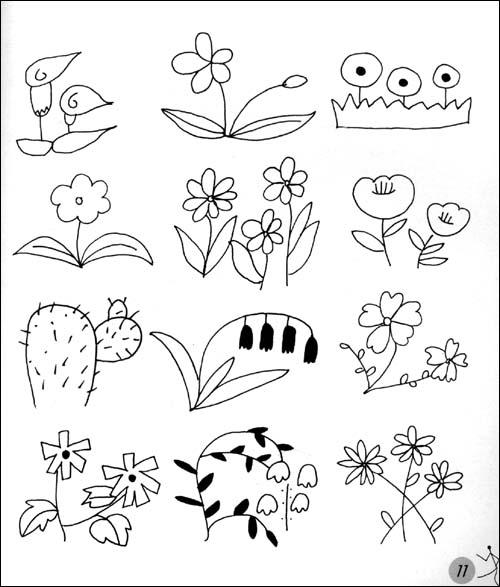 [包邮]时尚手绘素材库:简笔画(上)/任笠中-图书杂志