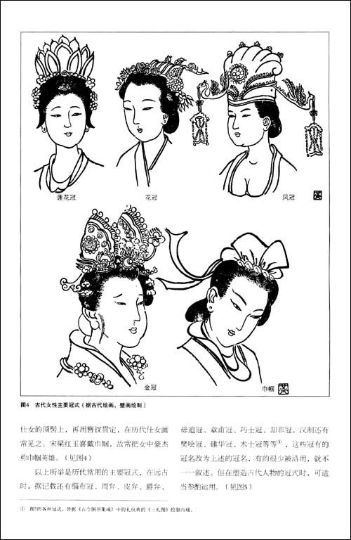 中国历代服制服式