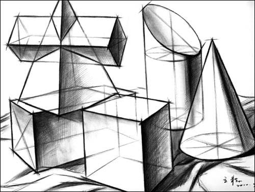 基础素描教程.结构素描