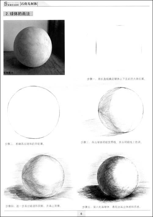 步骤错误是练习石膏几何体素描阶段最容易出现的错误