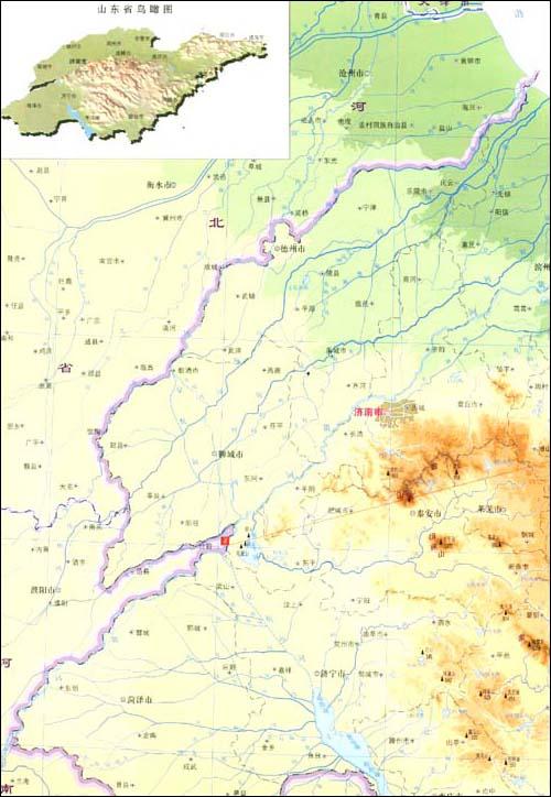 济南章丘地图 搞笑图片