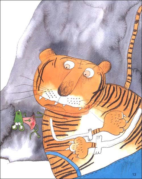 没有牙齿的大老虎