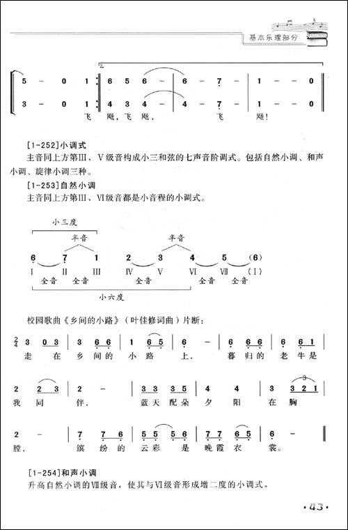 音乐知识abc